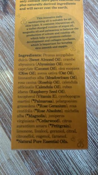 ingredients oil bk