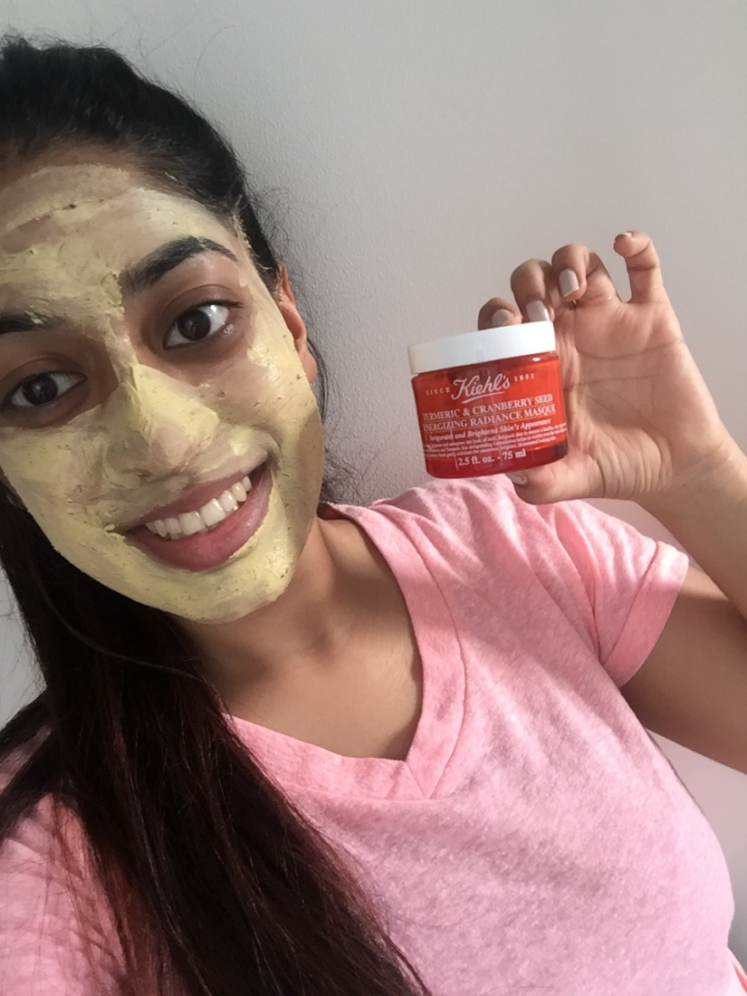 Kiehl's Turmeric & Cranberry Seed Energizing Radiance MasqueReview